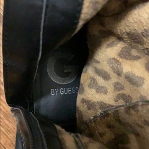 G by Guess Shoes - Black Leather Guess Boots Size 6.5